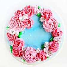 Mother s Day Cake easy rosette s}