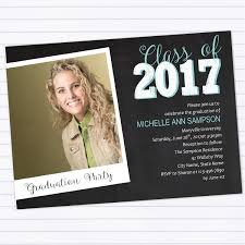 graduation announcements template modern chalkboard graduation party invitation template