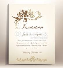beautiful floral wedding invitation suitable also for