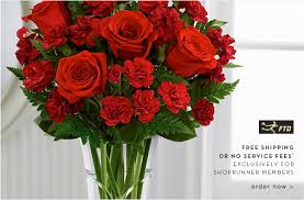 fds flowers free floral delivery from ftd for shoprunner members save 15