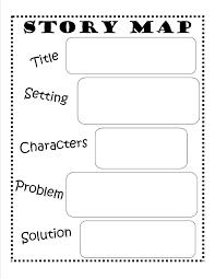 story map free printable reading writing kids ela