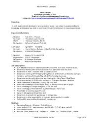 Developer Resume Examples by Download Android Developer Resume Haadyaooverbayresort Com