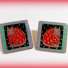 laurel burch earrings best vintage laurel burch earrings products on wanelo