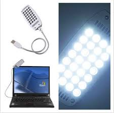 28 led usb white light l for pc gadget for laptop