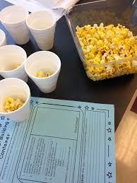 stem activity challenge exploring volume with popcorn popcorn