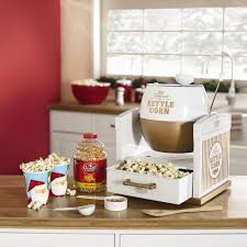 nostalgia old fashioned kettle corn popcorn maker christmas