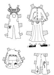 clothes coloring pages clothes for model coloring pages hellokids com