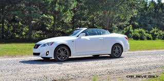 convertible lexus road test review 2014 lexus is350c f sport convertible coupe