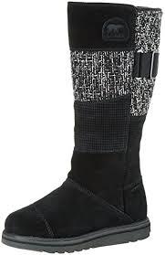 sorel womens boots uk sorel rylee boots black black 010 7 uk 40 eu