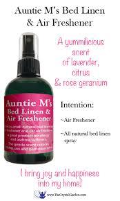 Bathroom Air Fresheners Auntie M U0027s Bed Linen U0026 Air Freshener Essential Oil Blend 4 Oz