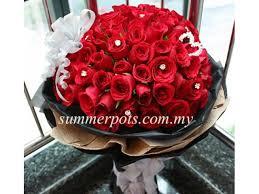 Wedding Gift Kl Rose Bouquet 197 Kl Florist Kuala Lumpur Florist Malaysia