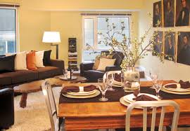 Rosichelli Design Home Staging Services Seattle WA Staged - Dining room staging