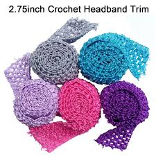 crochet bands aliexpress buy tutu bands stretchy 2 75inch wide crochet