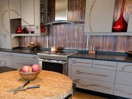 unique kitchen backsplashes metal kitchen backsplash cool kitchen metal backsplash home