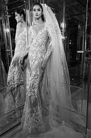 zuhair murad wedding dresses couture sheath wedding dress kleinfeld bridal
