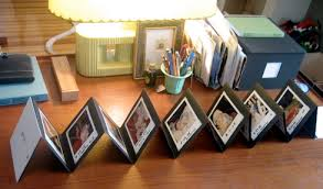 handmade photo albums handmade polaroid accordion album diy project ideas