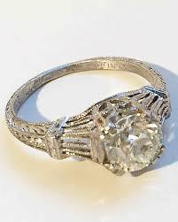 rings art images 47 stunning vintage engagement rings martha stewart weddings jpg