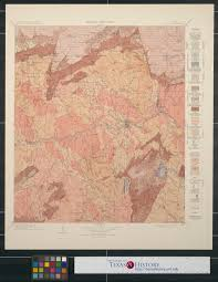 Unt Campus Map Areal Geology Texas Llano Quadrangle Digital Library