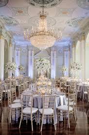 white silver u0026 gold wedding at the biltmore ballrooms in atlanta