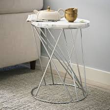 west elm marble top coffee table modern white side table pebble side table west elm west elm side