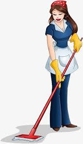 une femme de chambre bonne dun le dessin la femme de chambre femme de ménage image png