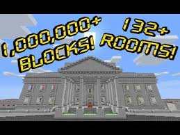 white house grounds 1 000 000 blocks minecraft project