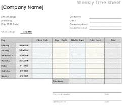 Free Excel Template Downloads Free Excel Timesheet Templates