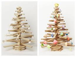 wooden tree pattern lights with diy