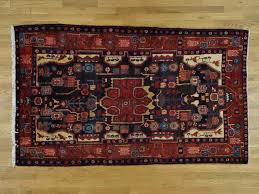 Wide Runner Rug 5 3 X9 1 Nahavand Knotted Wool Wide Runner Rug