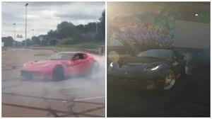 Ferrari F12 Drift - ferrari f12 tdf vs f12berlinetta donuts