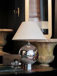 Mercury Glass Table L A 1940 S Mercury Glass L Base Table Lights