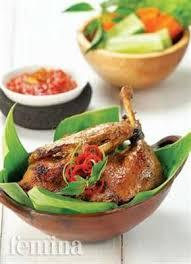 femina cuisine bebek bakar femina food and drink