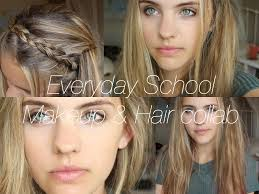 school for makeup everyday school makeup hair