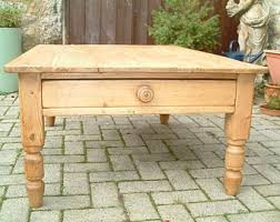 Pine Coffee Table Pine Coffee Table Etsy