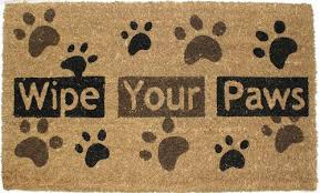 Coir Doormat Wipe Your Paws The Best Funny Front Door Mats On Amazon The Crafty Blog Stalker