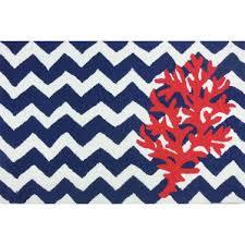 blue coral rug wayfair