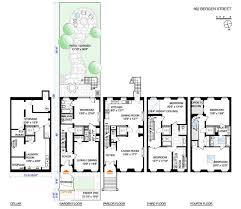 8 best brownstone floorplans images on pinterest 3 4 beds