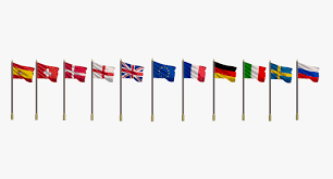 Europe Country Flags Flags Europe Countries 3d Model Turbosquid 1189727
