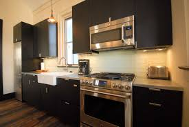 backsplashes kitchen bar counter overhang dark cabinets with
