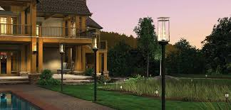 Landscape Lighting Companies Progress Led Landscape Lighting L Propane Lantern Post Patio