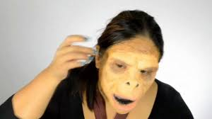 Halloween Makeup Man Halloween Makeup Planet Of The Apes Ape Man Tutorial Youtube