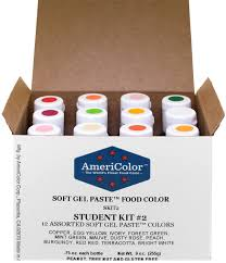amazon com food coloring americolor student kit 2 12 75 ounce