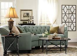 Tufted Living Room Chair by Couch For The Living Room Riemann Curved Tufted Sectional In