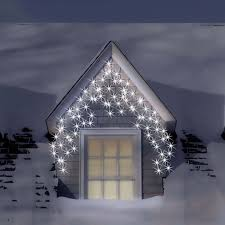 snowtime 240 electric blue white led icicle lights cl02946