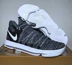 k d nike zoom kd x 10 fingerprint black and white oreo 897815 001 kdx