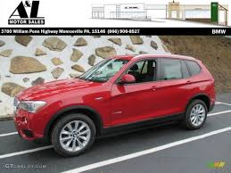 red bmw 2016 2016 melbourne red metallic bmw x3 xdrive28i 106444526 gtcarlot