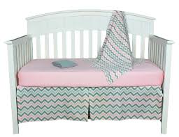 babybebe bedding sets gray and pink chevron zig zag 4 piece baby