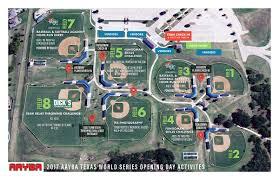 Baseball Map Flower Mound Youth Sports Association