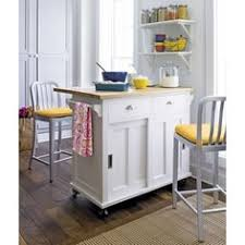 belmont white kitchen island kitchen cart with spice rack and one utility drawer finish