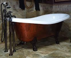 67 cast iron slipper clawfoot tub w lions classic clawfoot tub